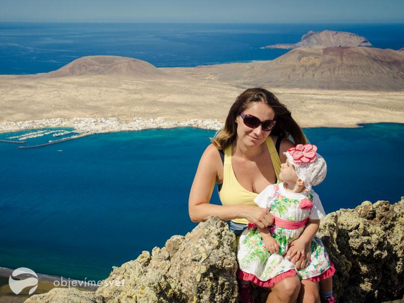 První dovolená s dítětem