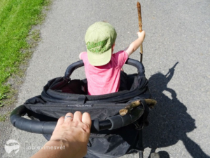 rozhovor S dětmi v báglu