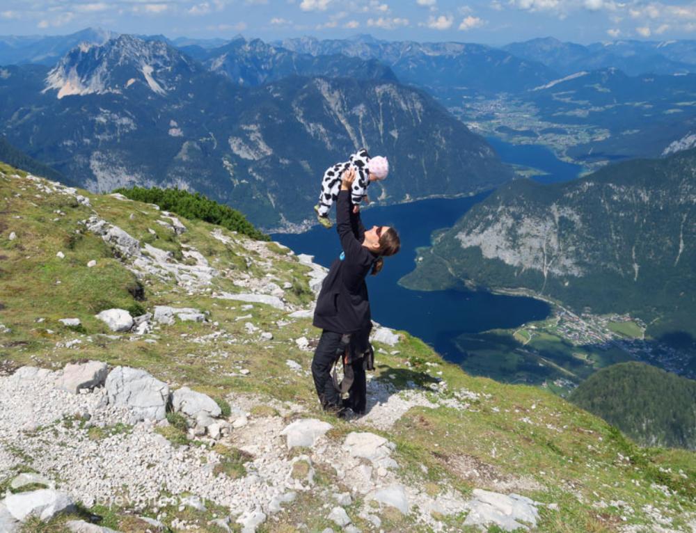Putovaní Horním Rakouskem a Štýrskem se třemi dětmi