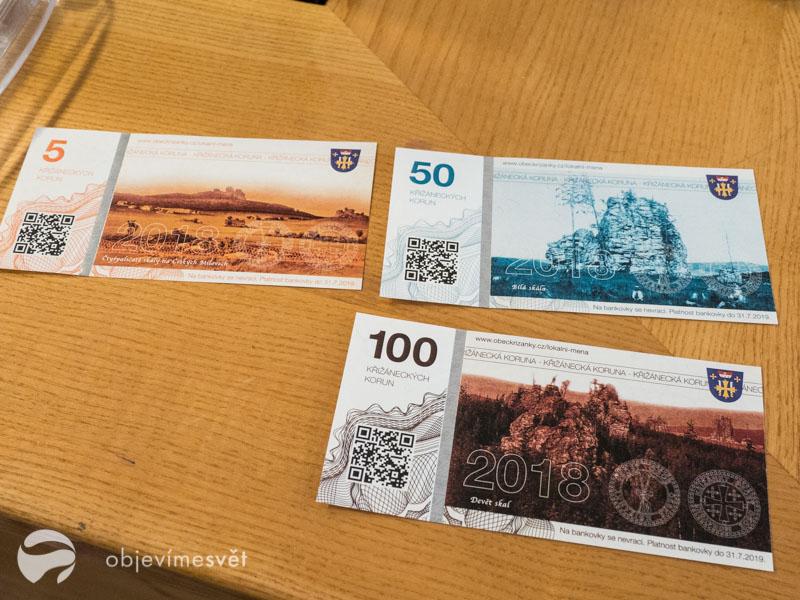 Křížánecké peníze