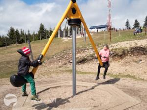 Hřiště Medvědín s dětmi