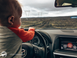 Island s dítětem