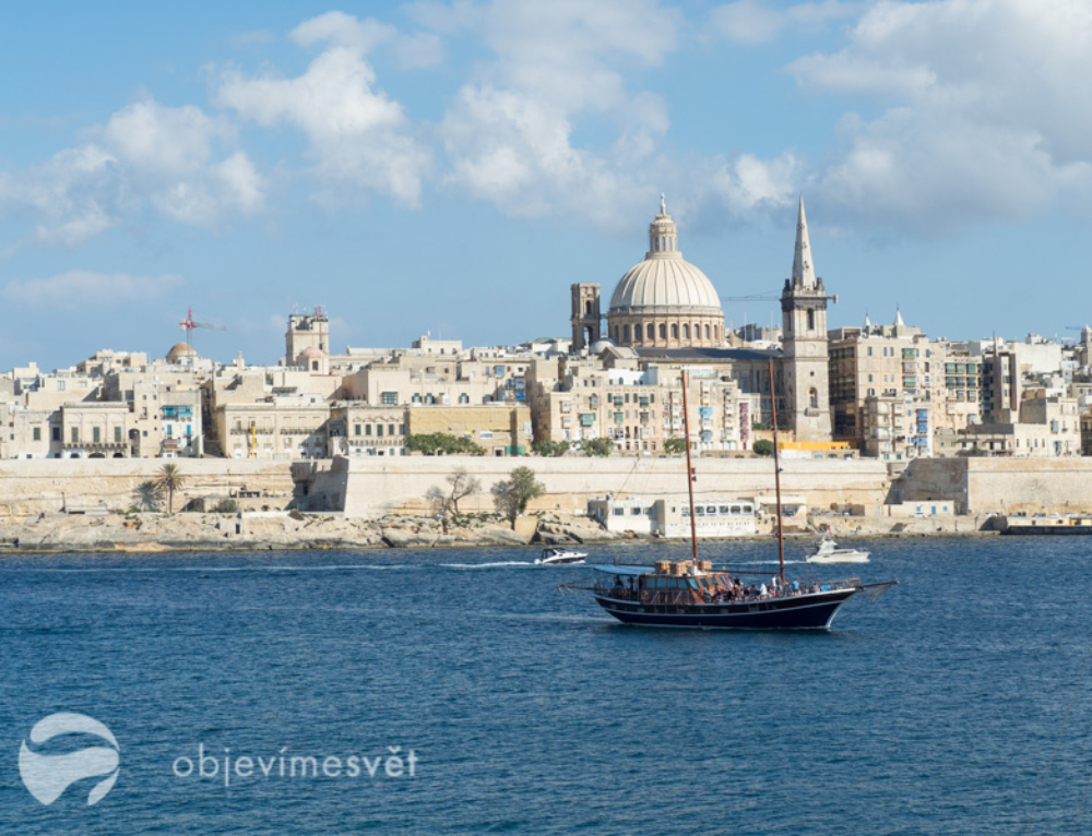 Za angličtinou na Maltu