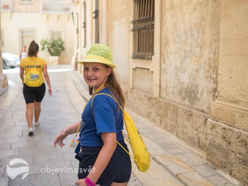 Angličtina s dětmi na Maltě