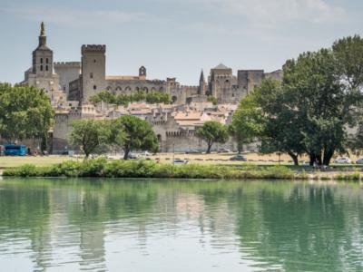 Avignon s dětmi