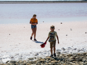 Camargue s dětmi