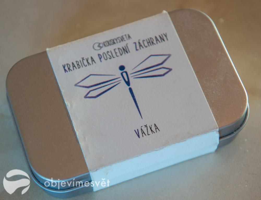 Krabička, která může zachránit vaši rodinnou cestu!