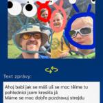 Aplikace pohlednice