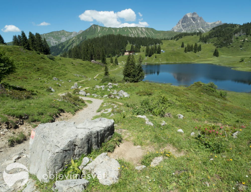 V červenci je Bregenzský les s dětmi super volba